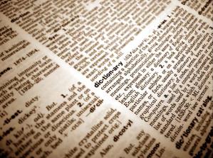 Imagen de diccionario